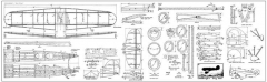 "Lockheed Model 8 Sirius ""Dog Star"" model airplane plan"