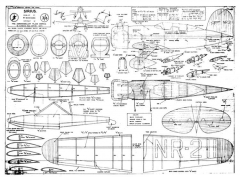 Lockheed Sirius model airplane plan