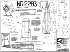 Lockheed Sirius Heathe model airplane plan