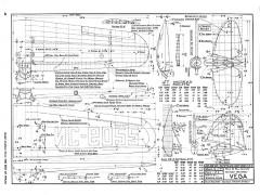 Lockheed Vega model airplane plan