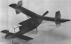 Lockspeiser LDA-01 model airplane plan