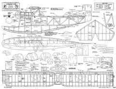 Loening OL9 model airplane plan