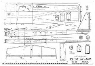 Lugano model airplane plan