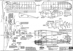 Luscombe Silvaire 8-C1 FSI model airplane plan