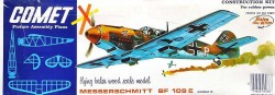 ME 109 E model airplane plan