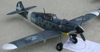 Messerchmitt 109 G model airplane plan