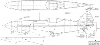 MIG-3 82in model airplane plan