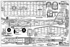 Mac Seventeen RCM-140 model airplane plan