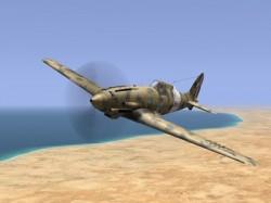 Macchi MC 202 model airplane plan
