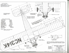 Mahoney-Ryan B-5 model airplane plan