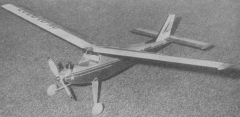 Major model airplane plan