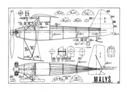 Malys model airplane plan