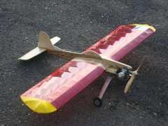 Manicaca II model airplane plan