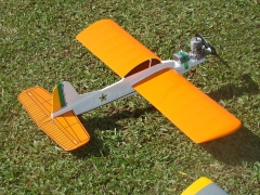 Manicaca I model airplane plan