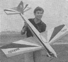 Marabu Mk 3 model airplane plan