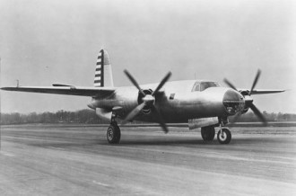 Martin B-26 Marauder model airplane plan