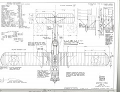 Martin T4M-1 model airplane plan