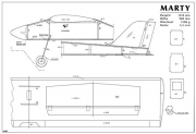 Marty model airplane plan