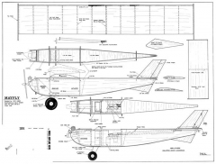 Mayfly model airplane plan