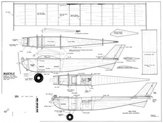 Cox 049 plans aerofred download free model airplane for Cox plans