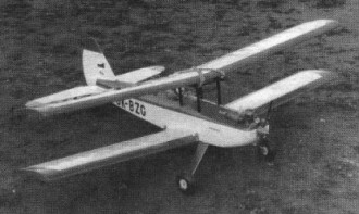 Merkur model airplane plan