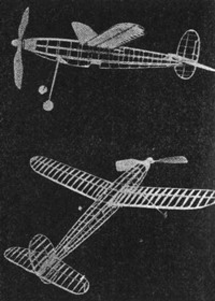 Merlu model airplane plan