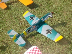 ME 109 (15) model airplane plan