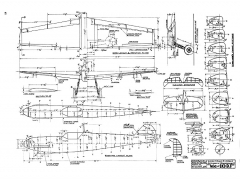 Messerschmitt Me-109 J model airplane plan