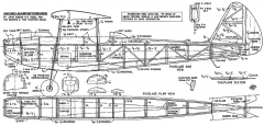 Micro-Barnstormer 29in model airplane plan