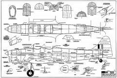 Miles M14A Magister RCM-219 model airplane plan