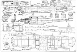 Miles M.5 Sparrowhawk model airplane plan
