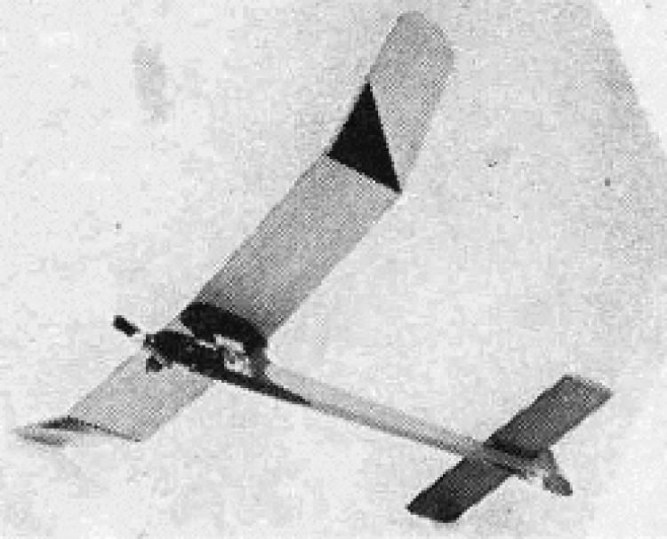 Milli model airplane plan
