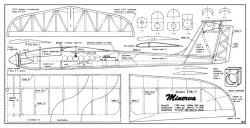 Minerva model airplane plan