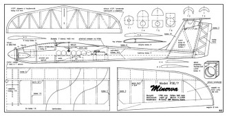 Minerva model airplane plan