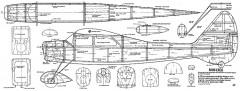 Mini Eros 42in model airplane plan
