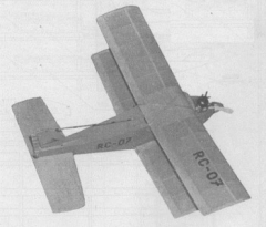 Mini Gama model airplane plan