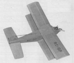 Mini Gama model airplane plan