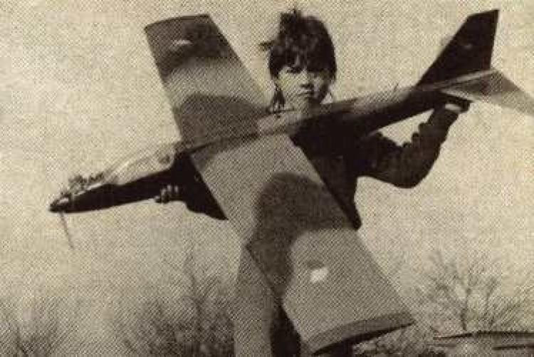 Mini Jet model airplane plan