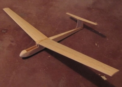 Mini Kestral model airplane plan
