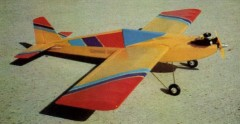 Mini model airplane plan