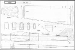 Minijara model airplane plan