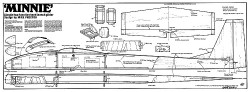 Minnie HLG model airplane plan