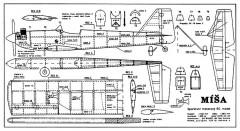 Misa model airplane plan