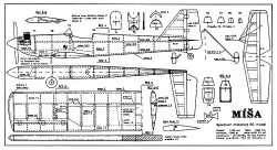 Misa model airplane plan