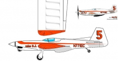 Miss BJ Pro model airplane plan