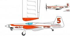 Miss BJ Pro model airplane plan