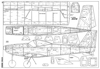 Miss Keeto-FM-11-66 model airplane plan