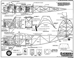 Miss Philadelphia IV RCM-862 model airplane plan