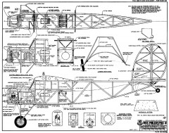 Miss Philadelphia IV RCM-862 model airplane plan