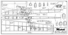 Mistral model airplane plan